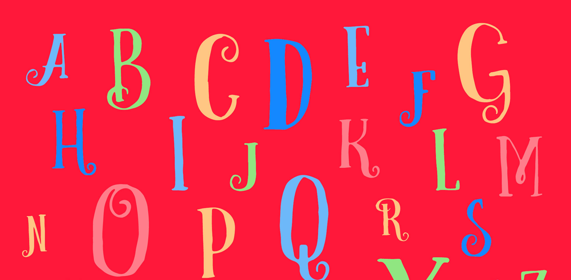 Free download: Curely font