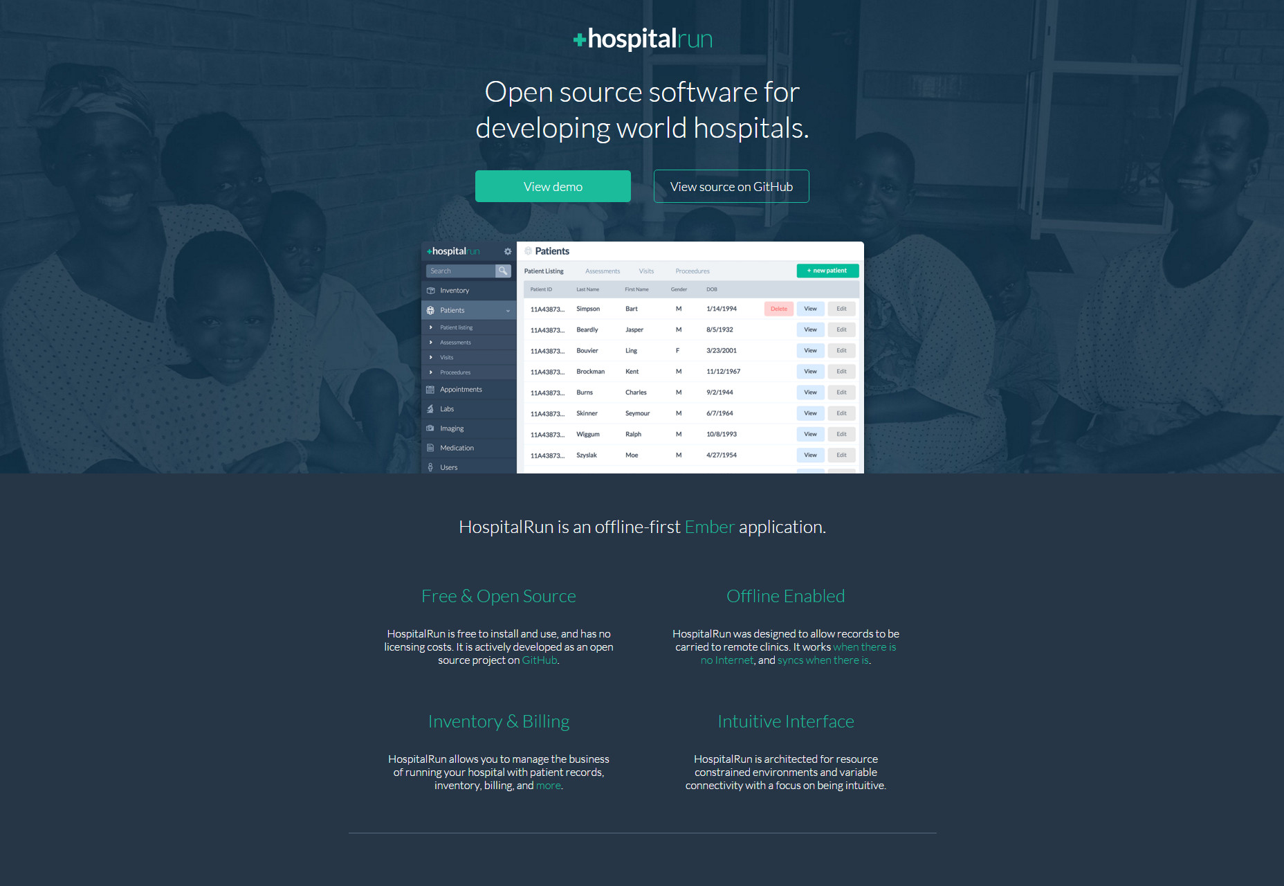 HospitalRun: Open Source Software for Developing World Hospitals