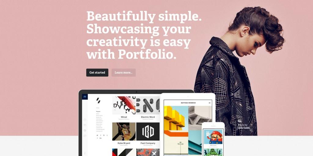 Designing Adobe Portfolio