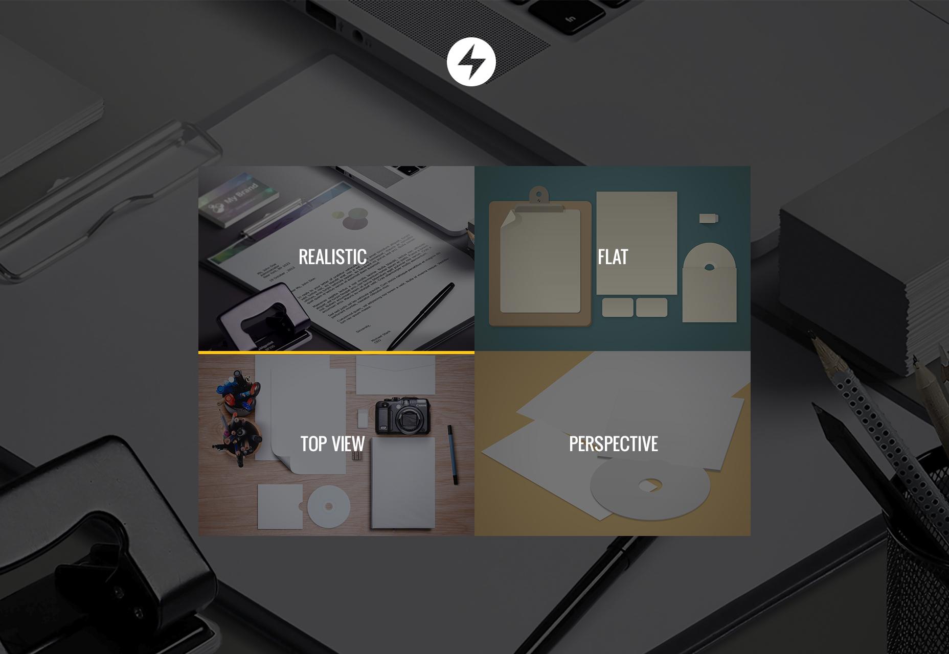 50 Branding Mockup Templates
