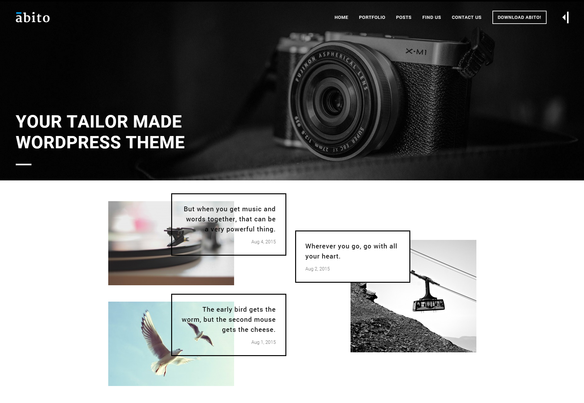 Abito: Modern Multi-Purpose WordPress Theme