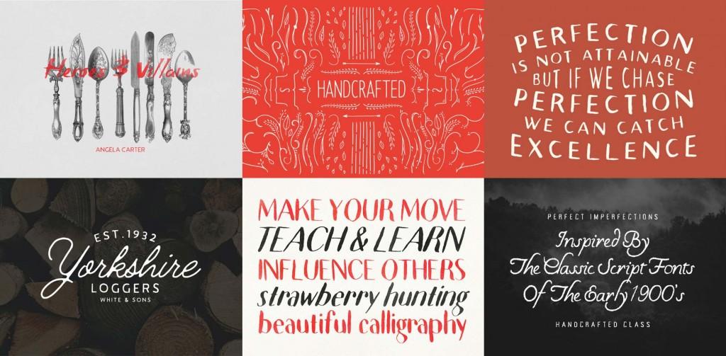Mega bundle: 92% off 57 hand-crafted fonts