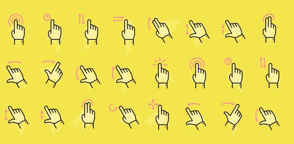 Designing for gestures