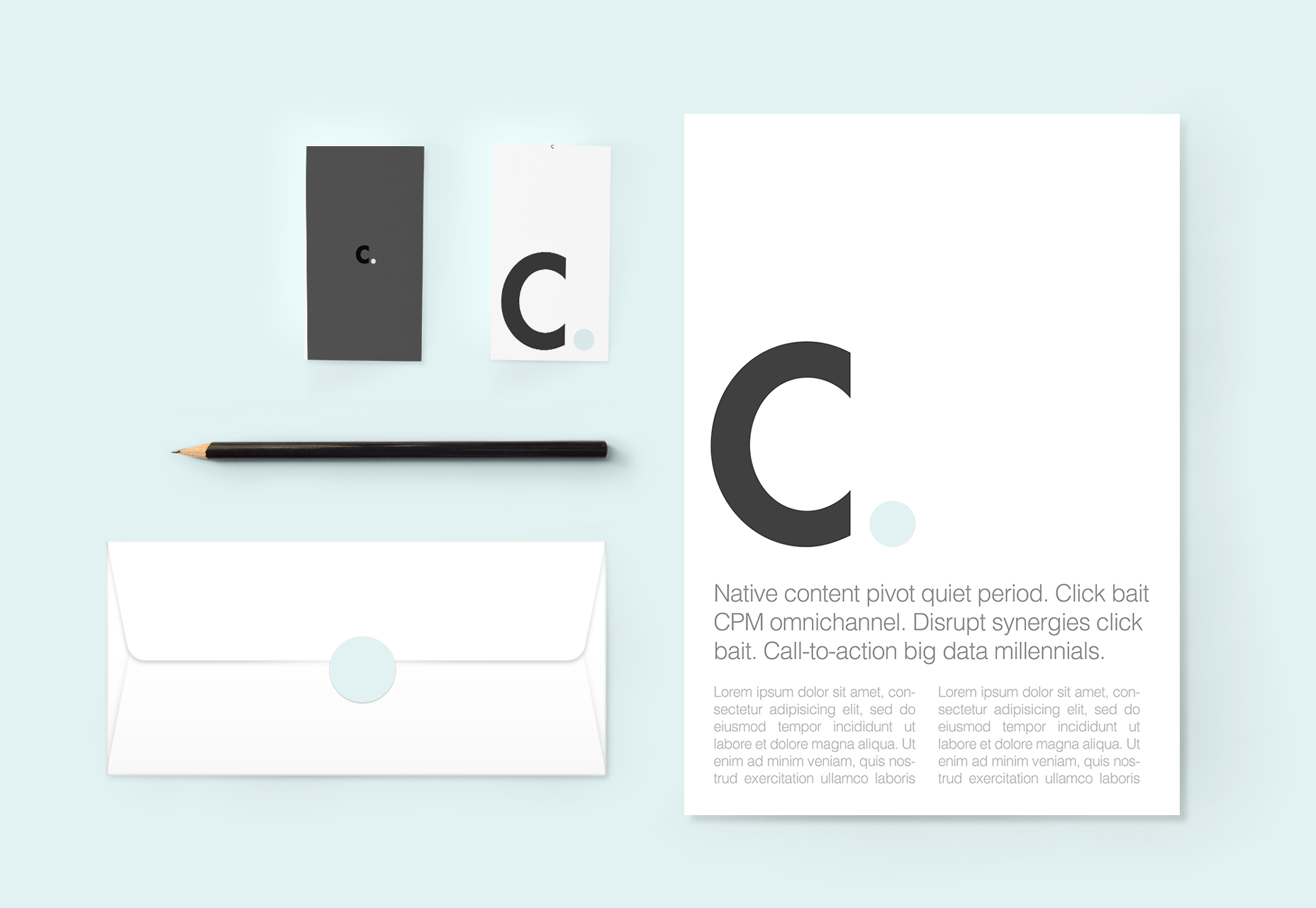 Corner: Free Branding & Identity Mockup