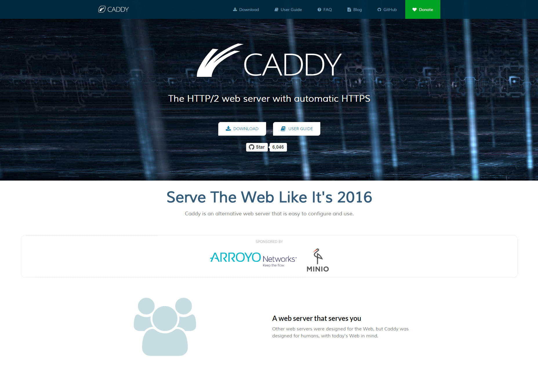 Caddy: Fully Managed SSL HTTP/2 Web Server