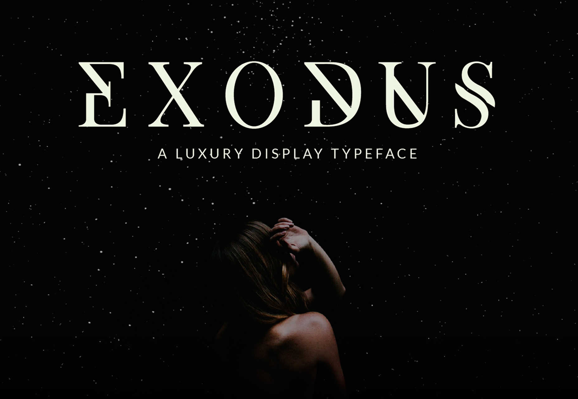 Exodus: Luxury 6-style Display Typeface