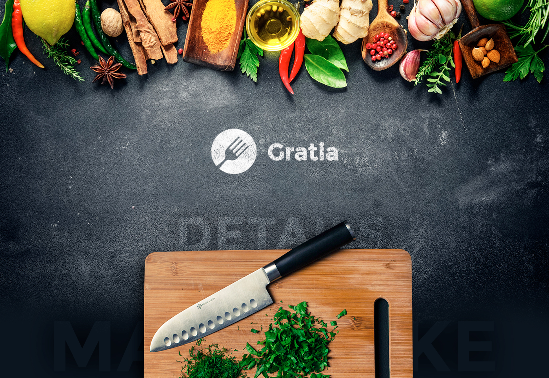 Gratia: Beautifully Crafted Restaurant PSD Template