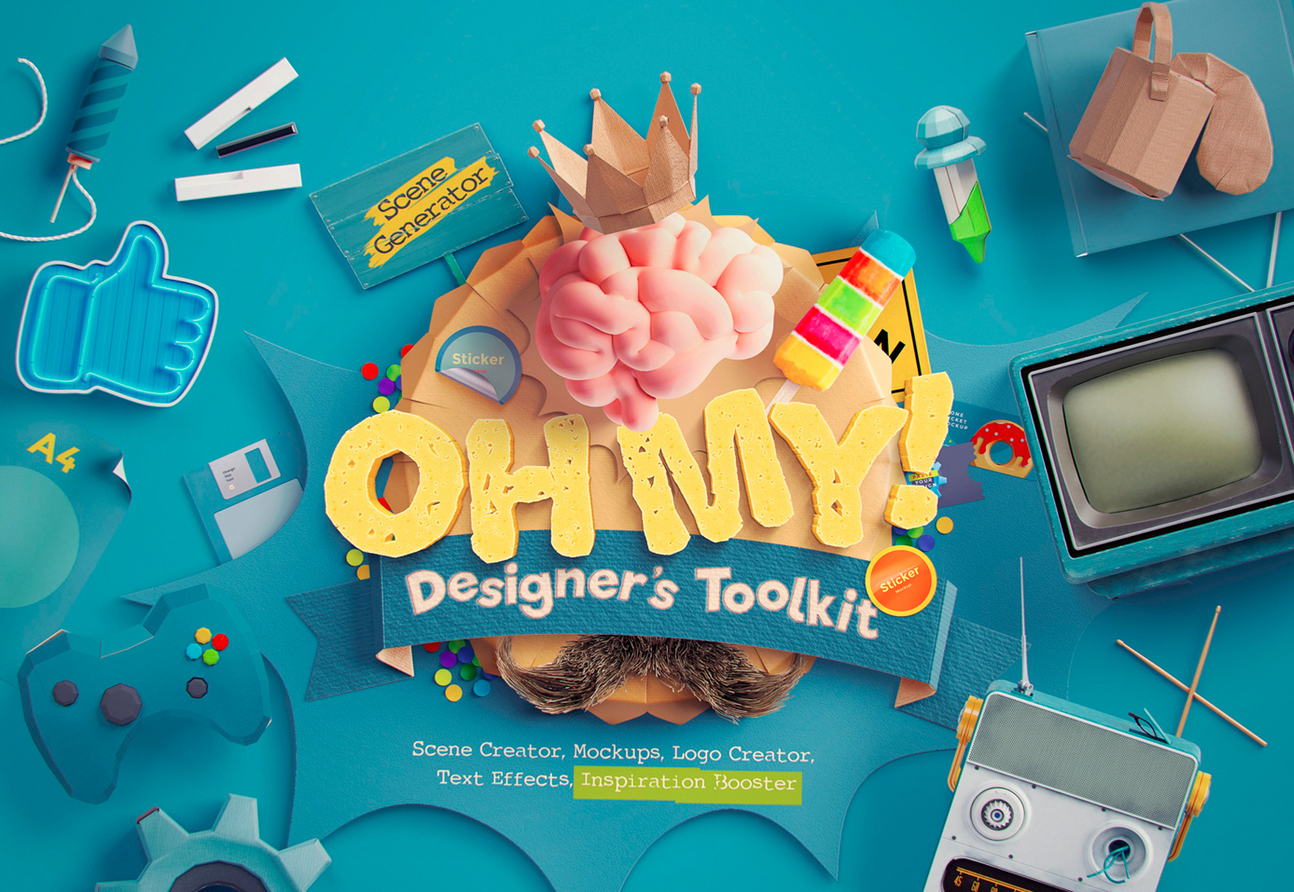 Oh My! Huge Designer's Toolkit
