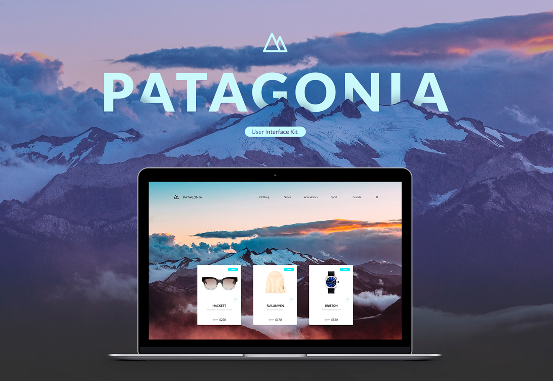 Patagonia: Modern ECommerce Website UI Kit