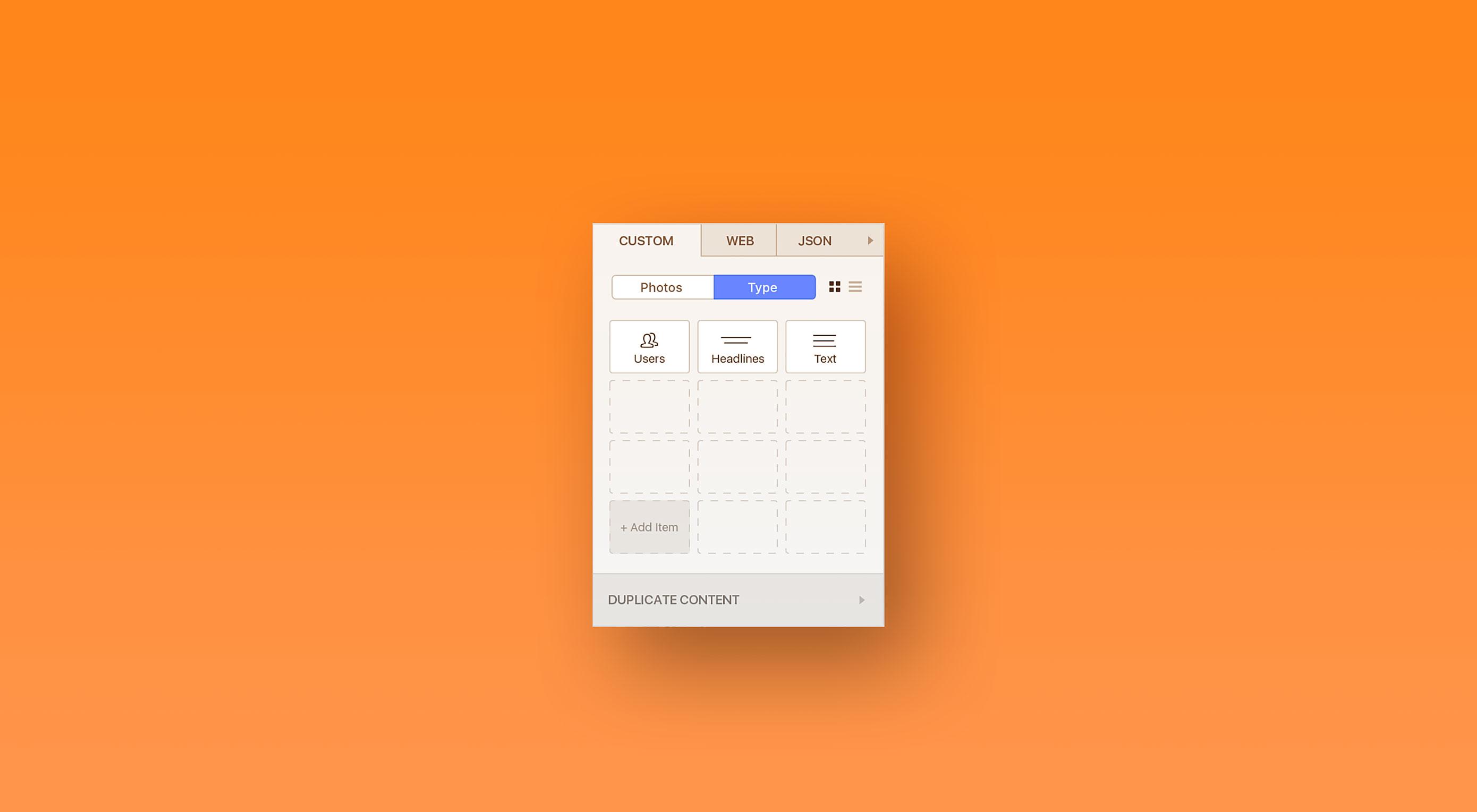 Design with data using Invision's brand new plugin