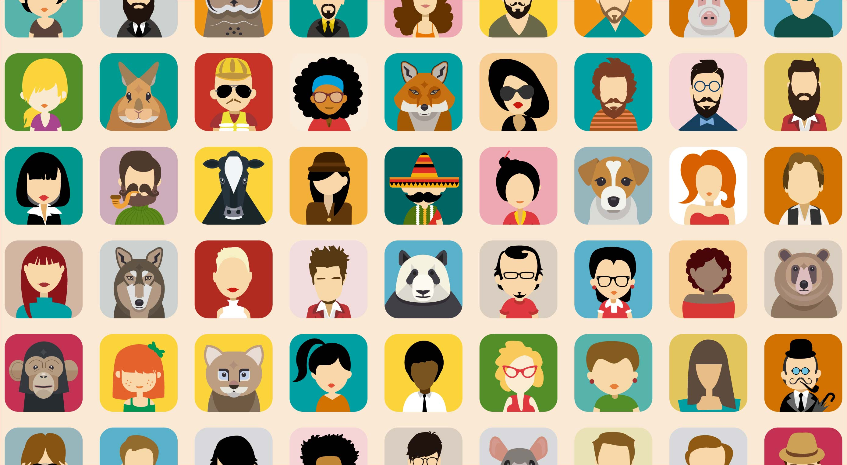 Free download: Avatar vector collection
