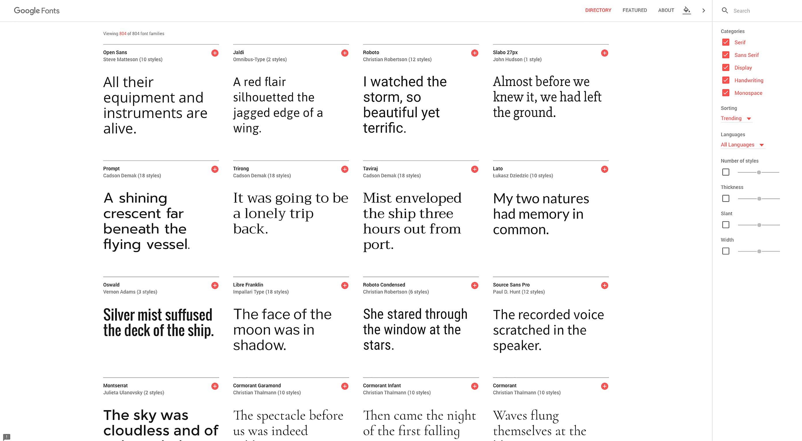 Google Fonts unveils huge redesign
