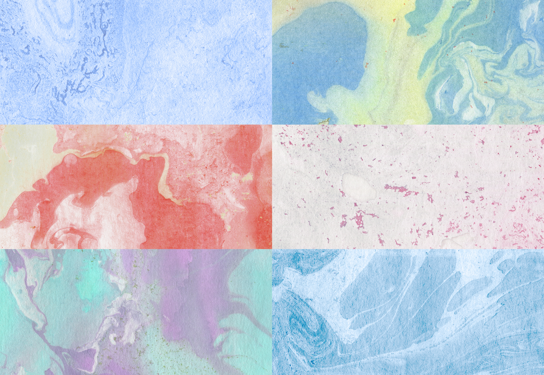 10 Incredible Marble Ink Textures