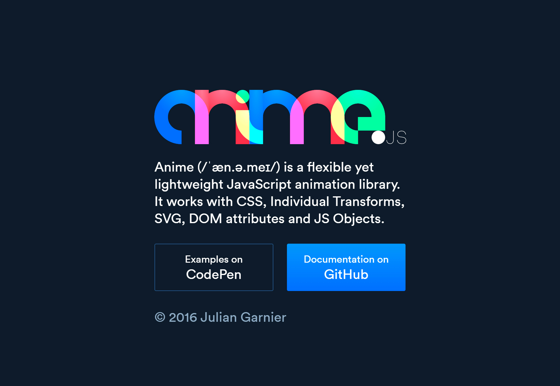 Anime.js: Powerful JavaScript Animation Library