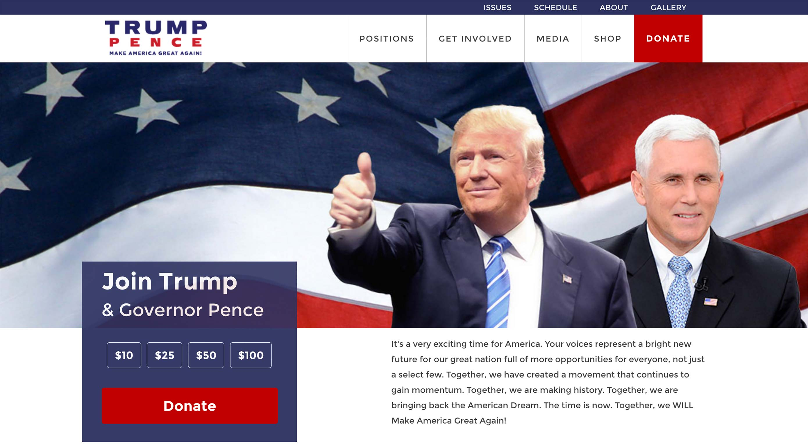 Trump campaign rebrands after web reacts