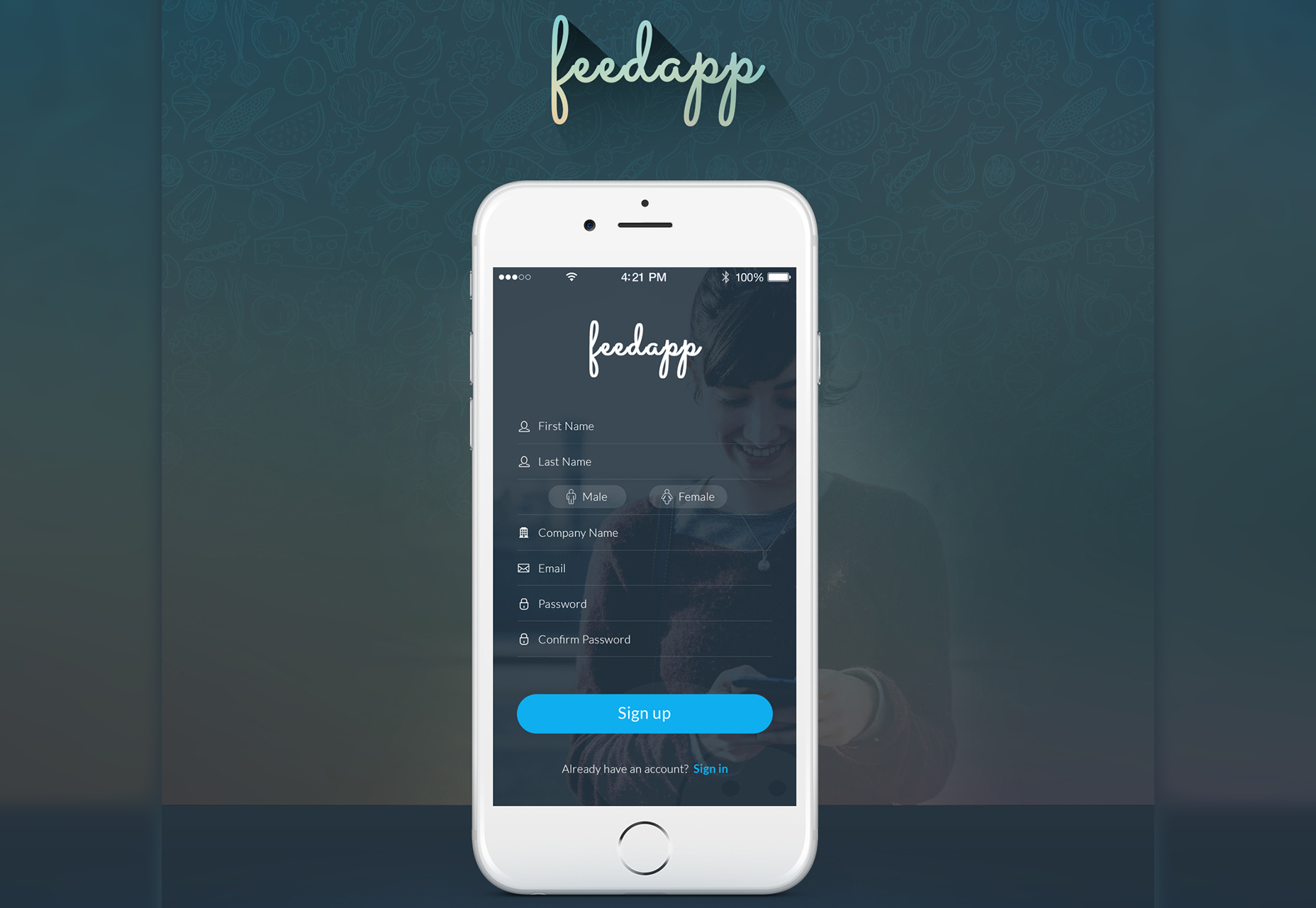 FeedApp: Modern Mobile App UI Kit