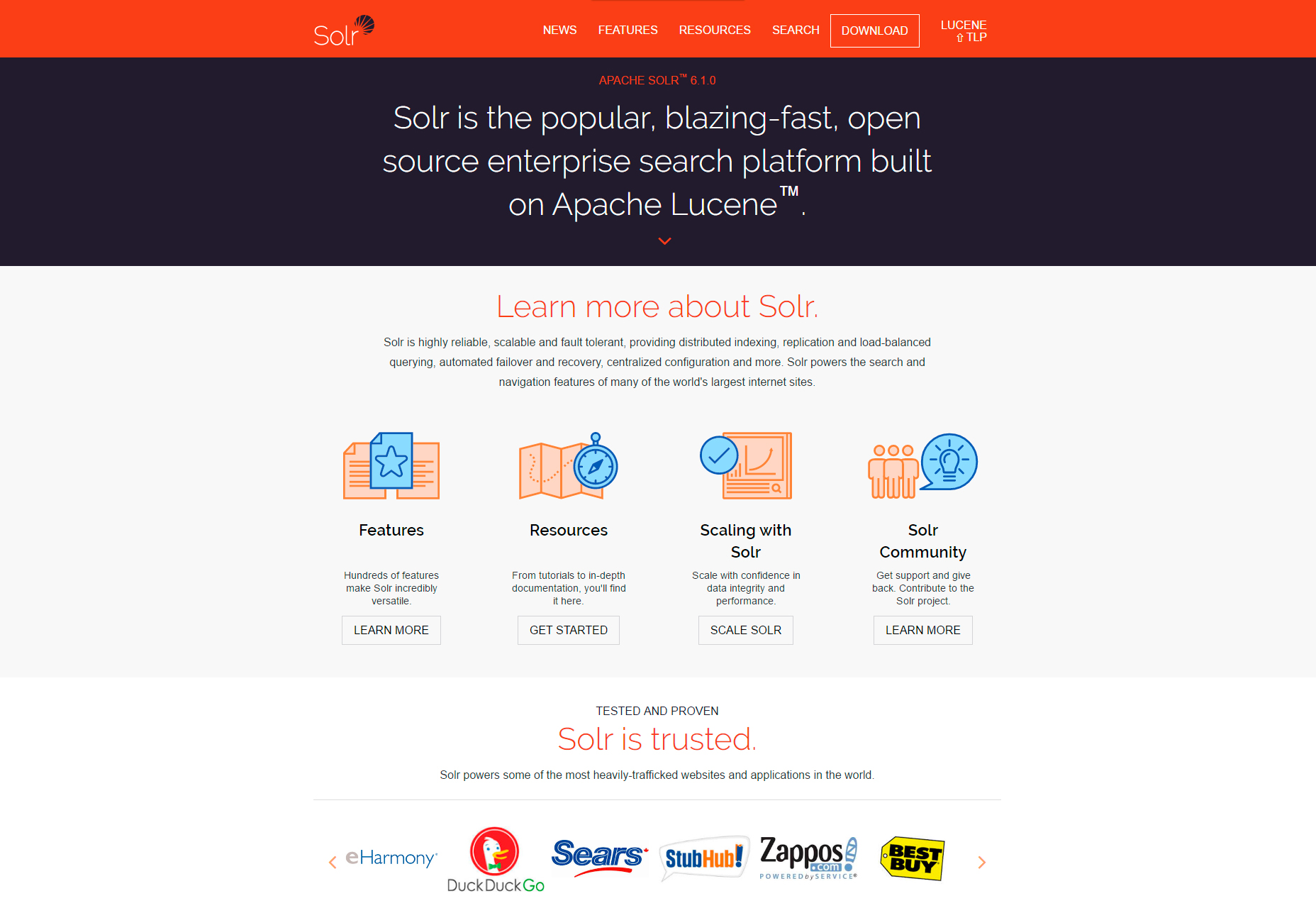 Solr: Open-source Enterprise Search Platform