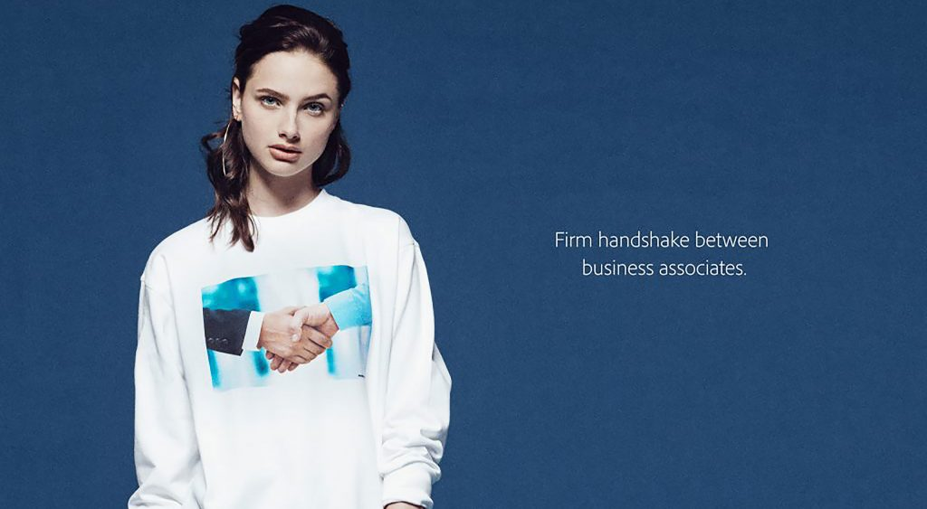 Introducing Adobe stock apparel