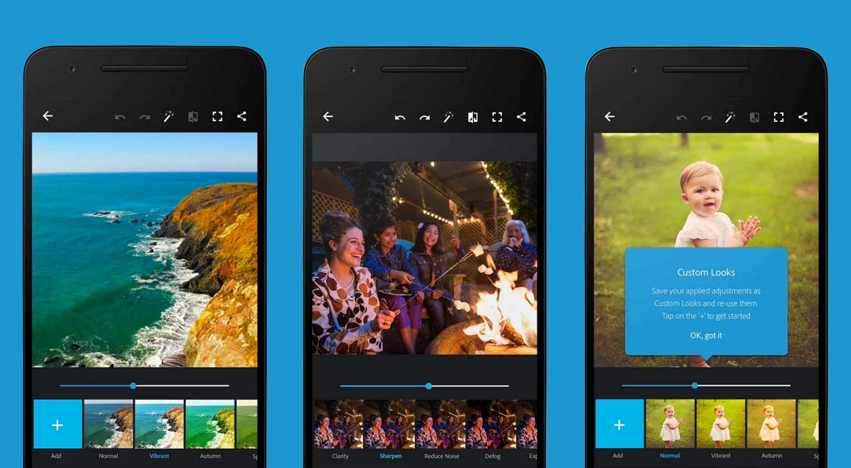 Photoshop Express gets a UI update