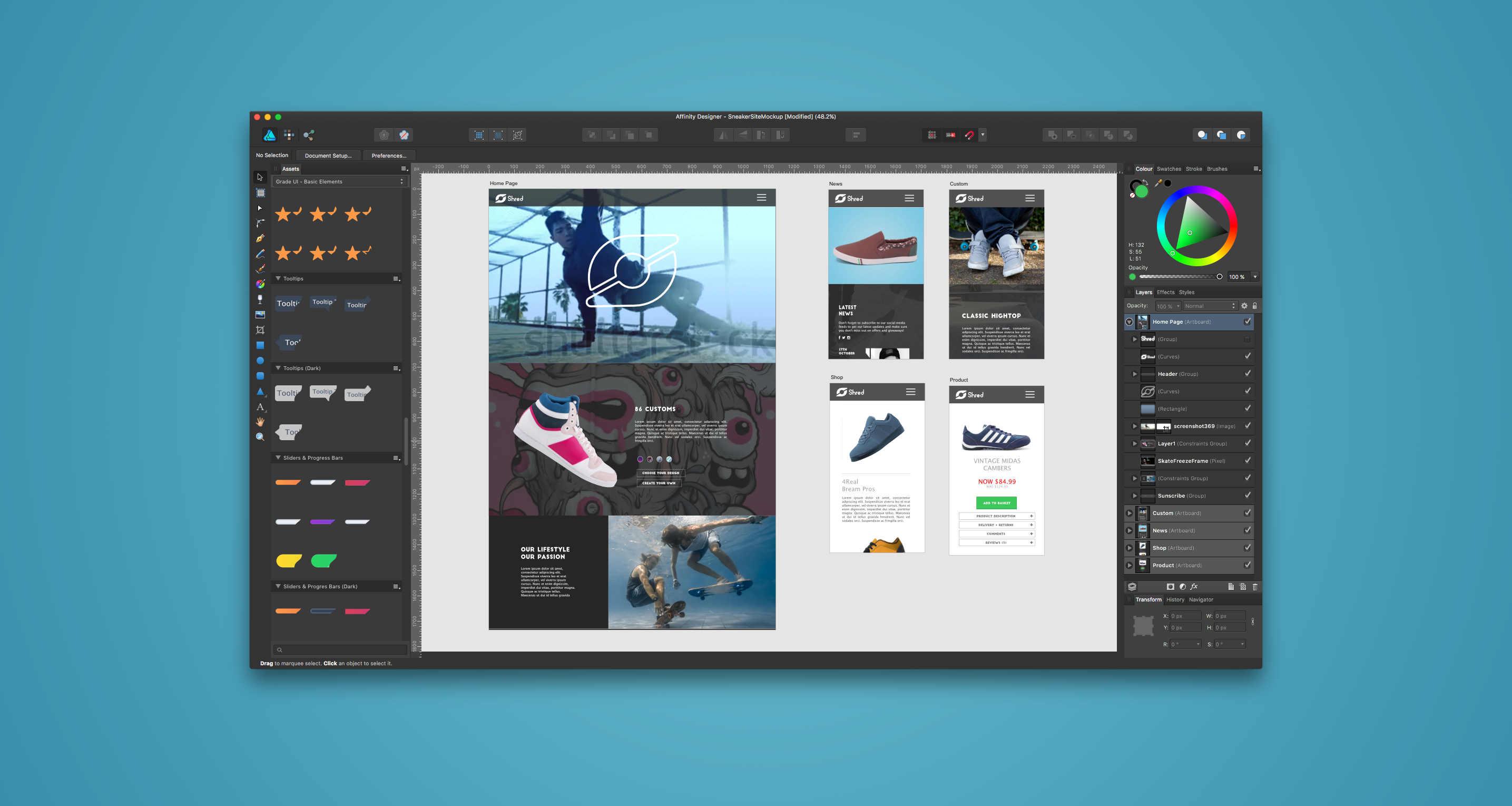 Affinity Designer 1.5 released