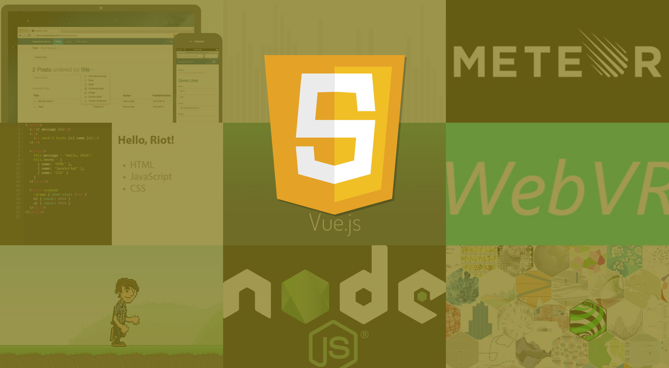 12 JavaScript libraries to watch in 2017 | Webdesigner Depot