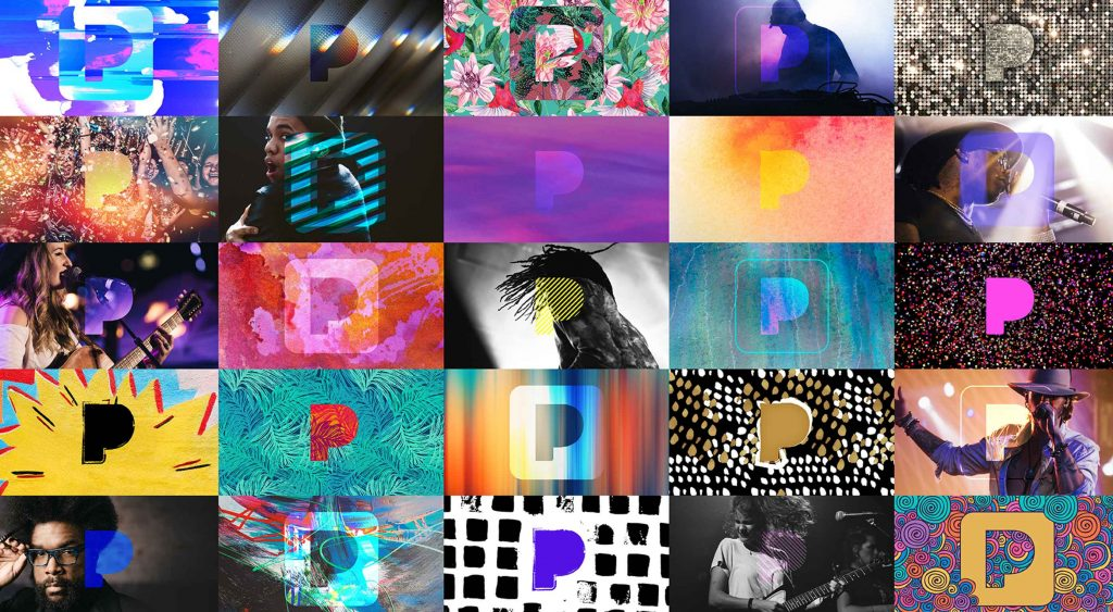 Web 2.0 meets MTV in Pandora's new branding