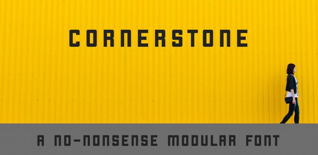 Free Download: Cornerstone Font