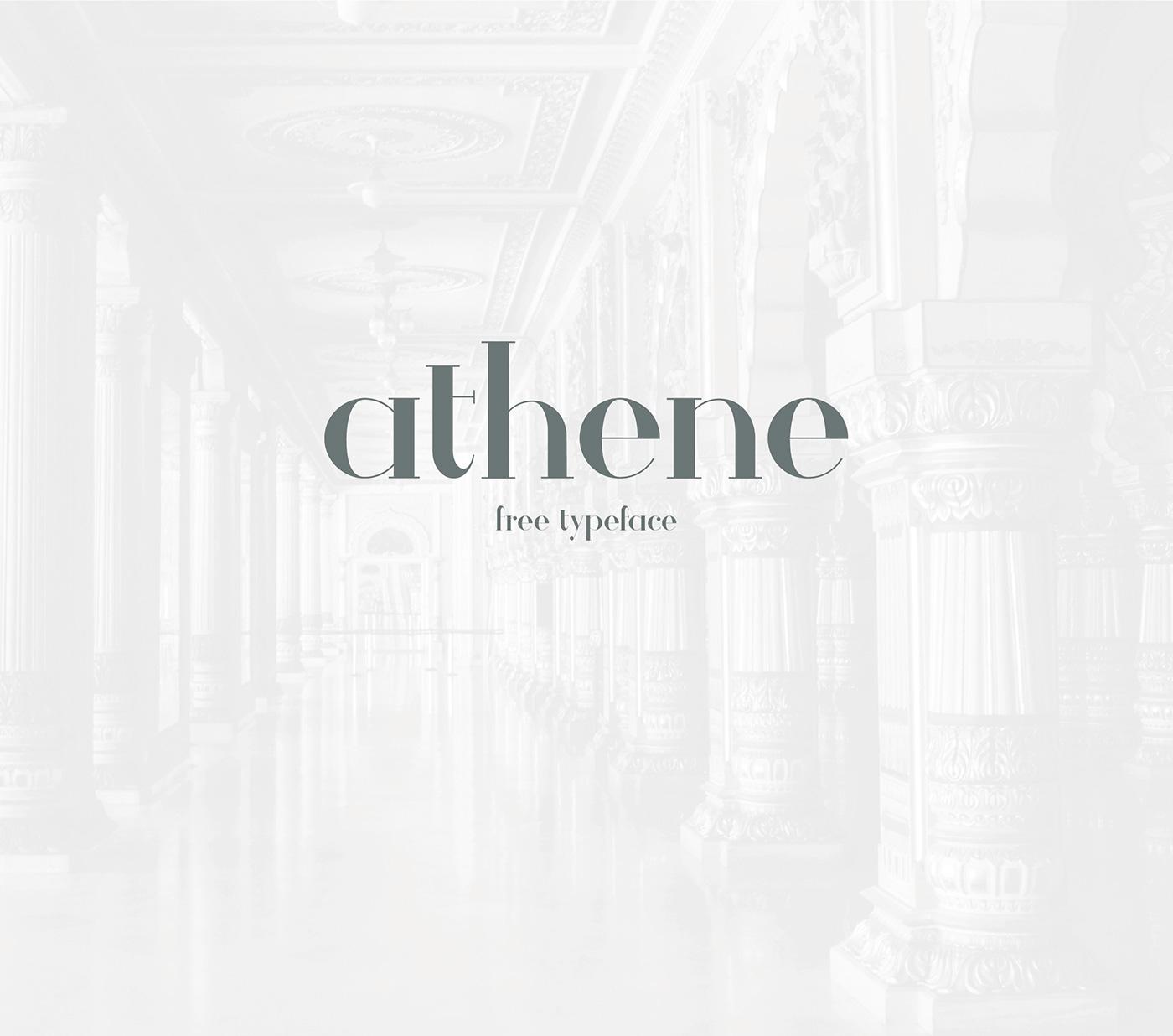 Free Download: Athene Typeface
