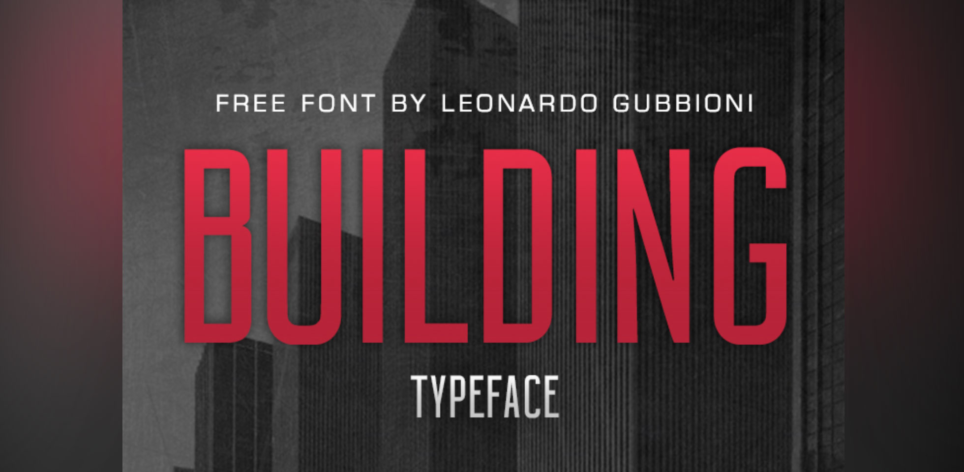 Free Download: Building Typeface