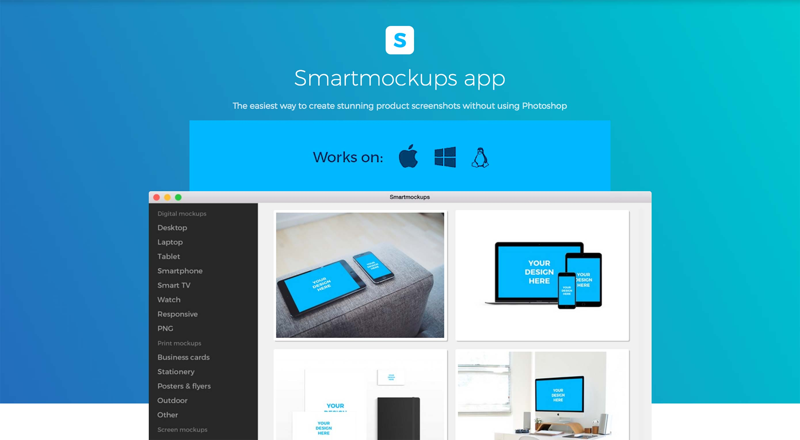 Deal: 52% off Professional, Product Screenshots App, Smartmockups