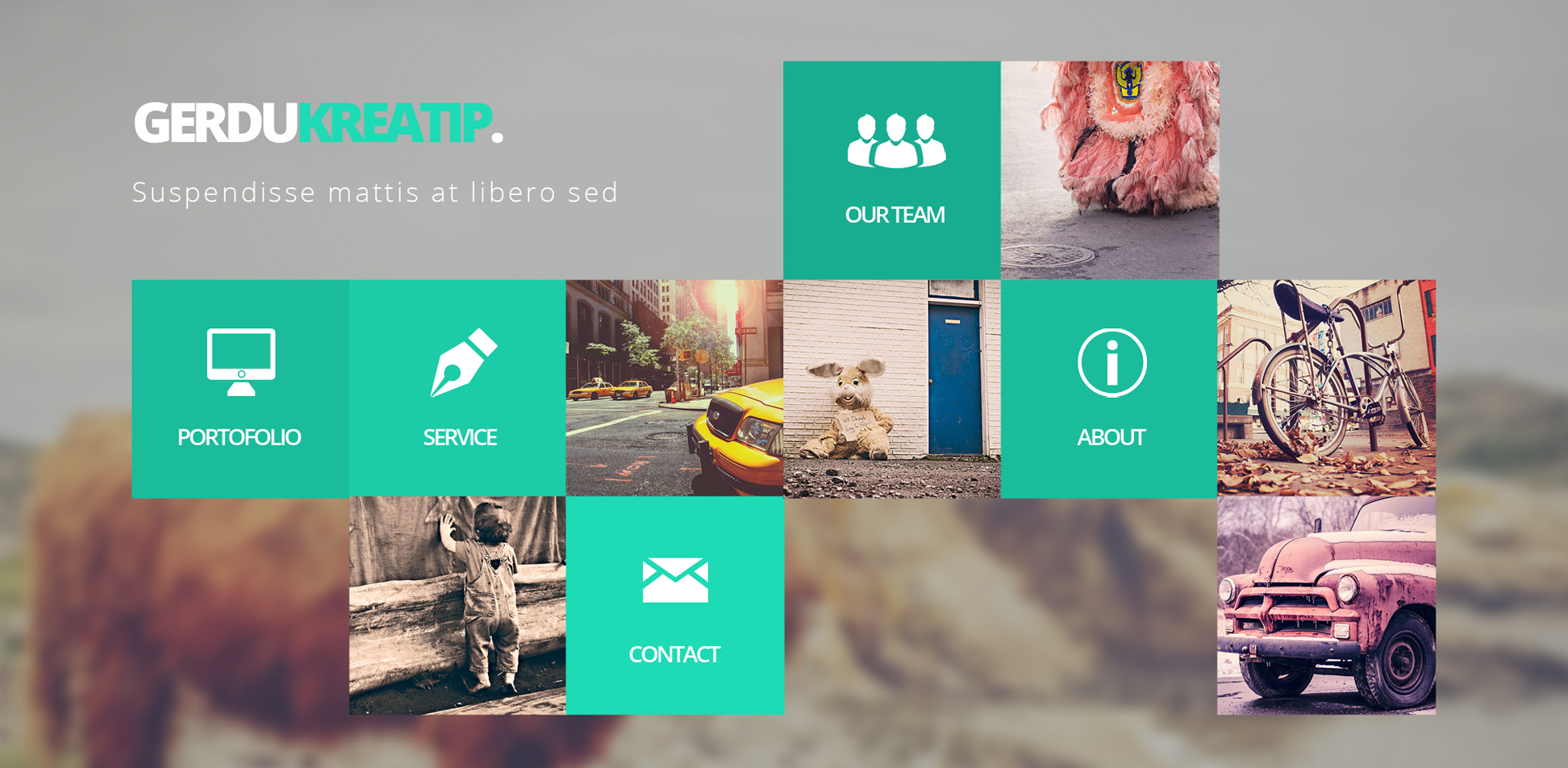 Free Download: GerduKreatip - Agency Portfolio Theme