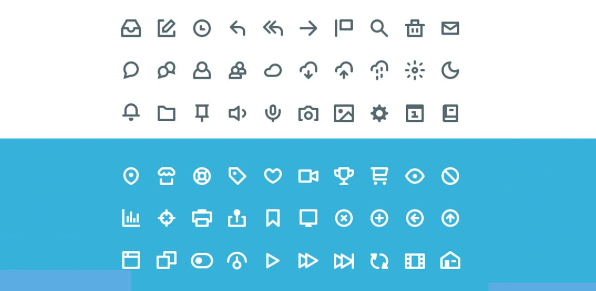 Free Download: '60 Vicons' Icon Set