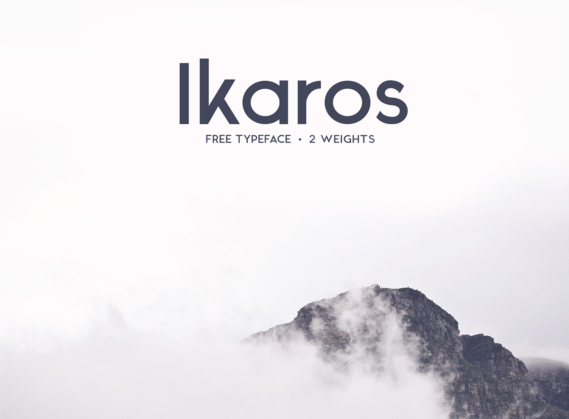 Free download: Ikaros Font