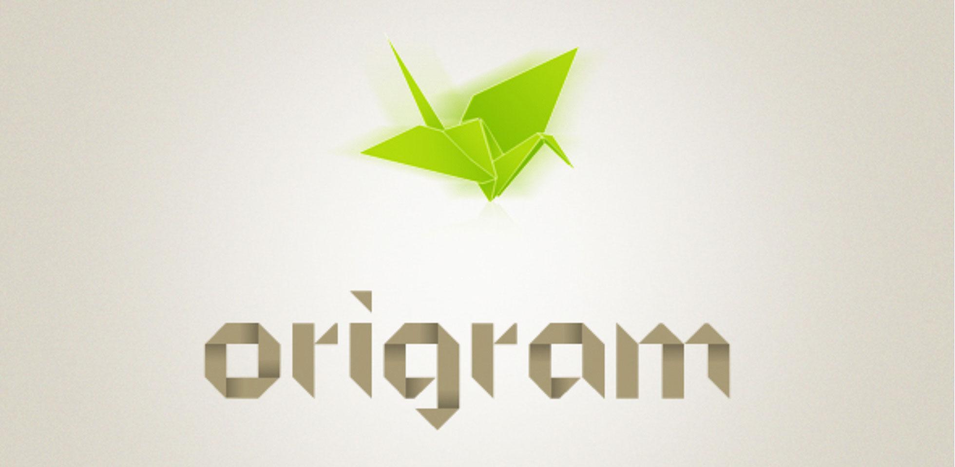 Free Download: ORIGRAM Font