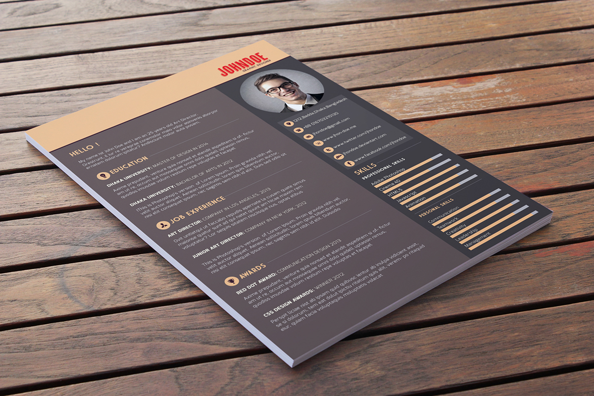 Free Download: Free Resume Template