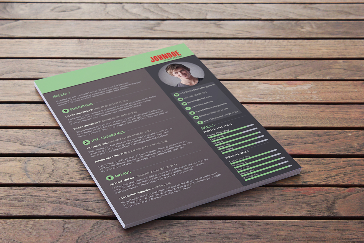 Download This Résumé Template For Free. R4 ...
