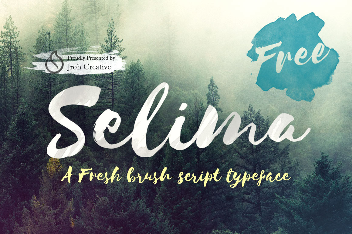 Free Download: Selima Typeface