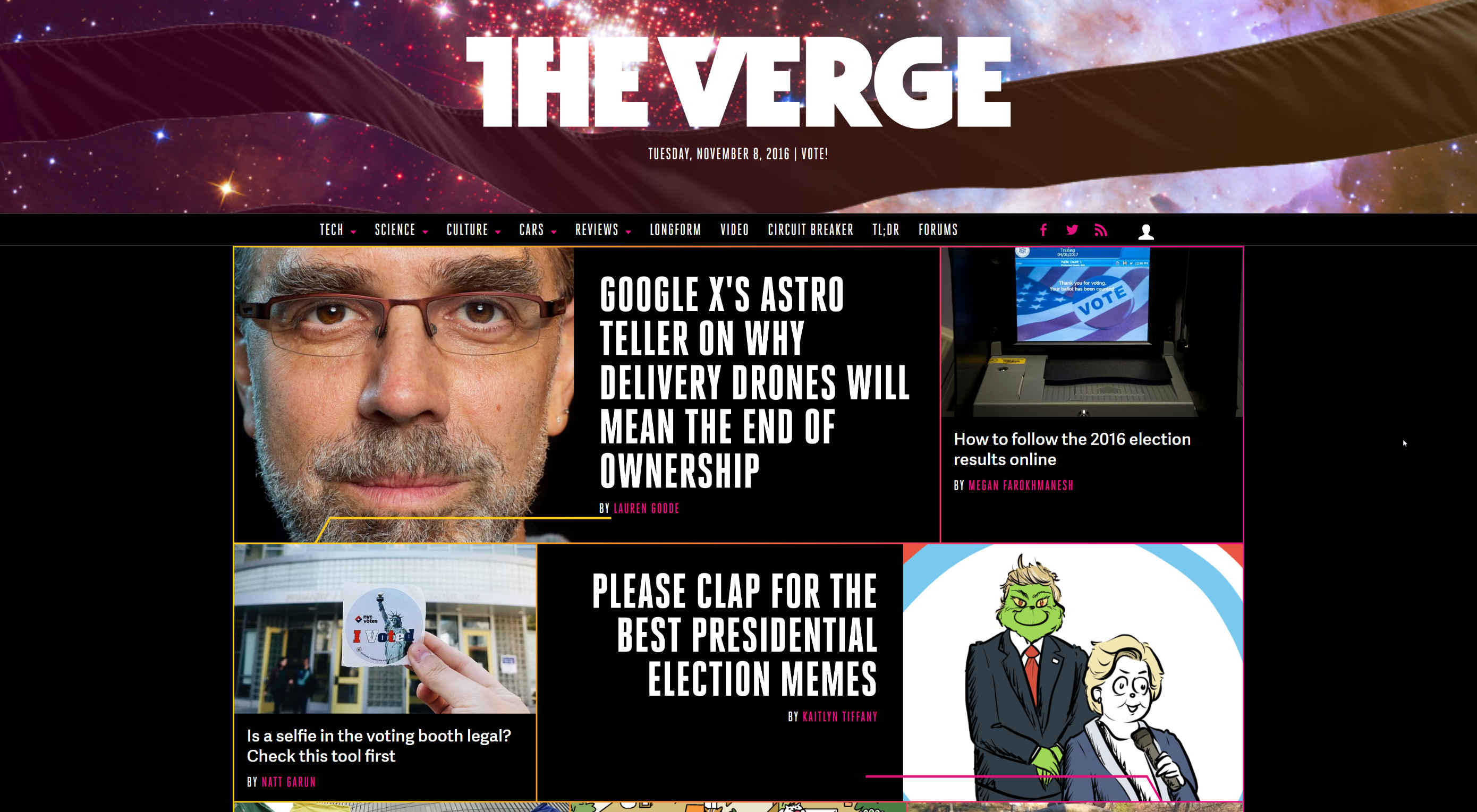 The Verge gets a redesign