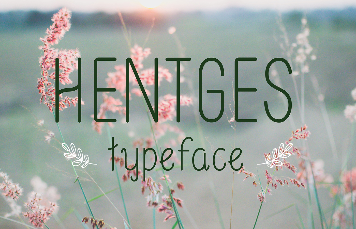 Free Download: Hentges Typeface