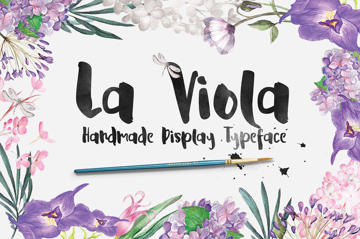 Free Download: La Viola Typeface