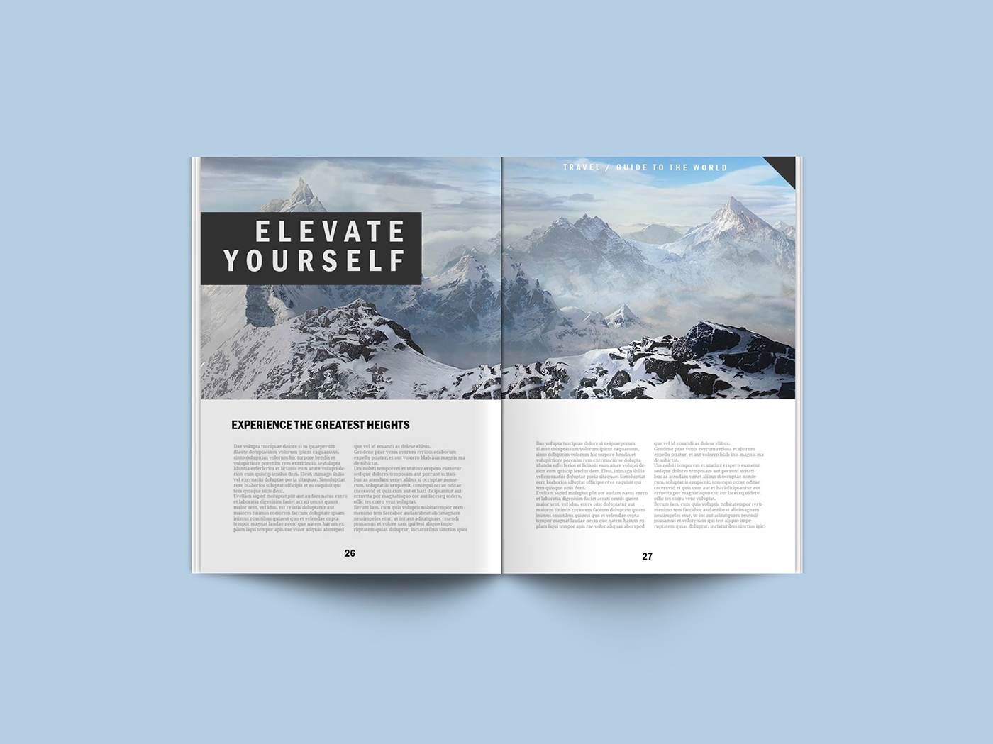 Free Download Magazine Mockup Template Webdesigner Depot