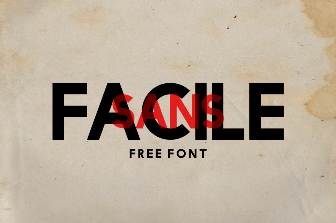 Free Download: Facile Sans
