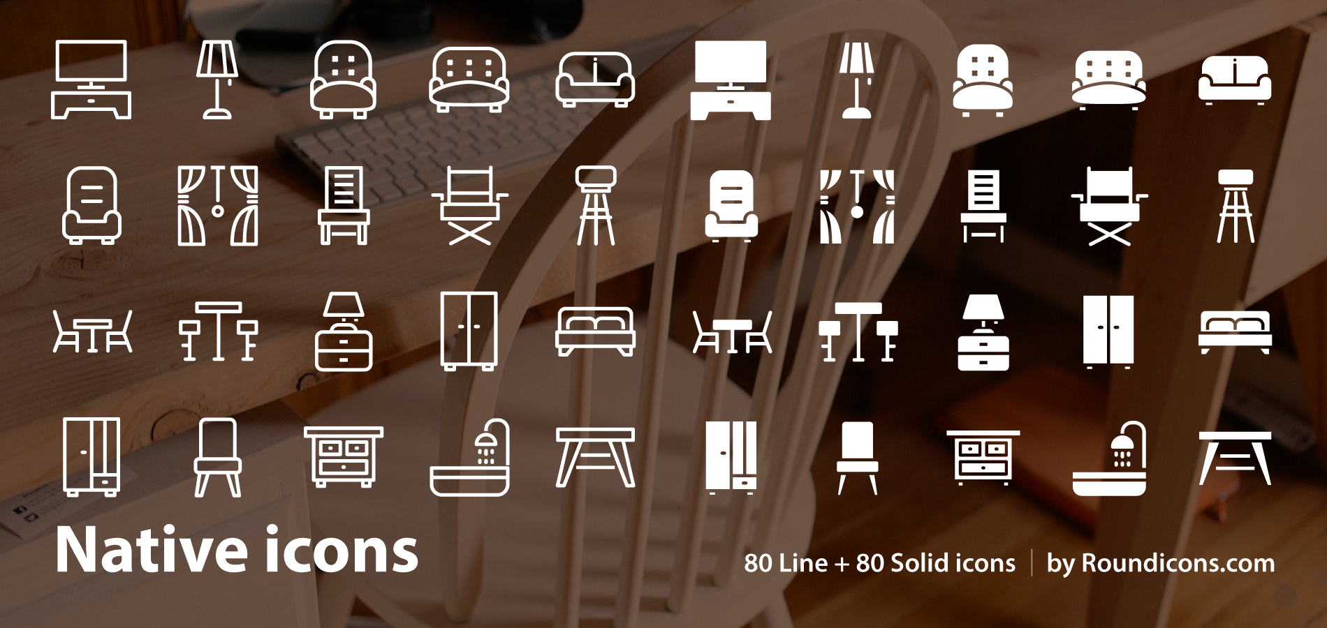 Free Download: Home Furniture Icons