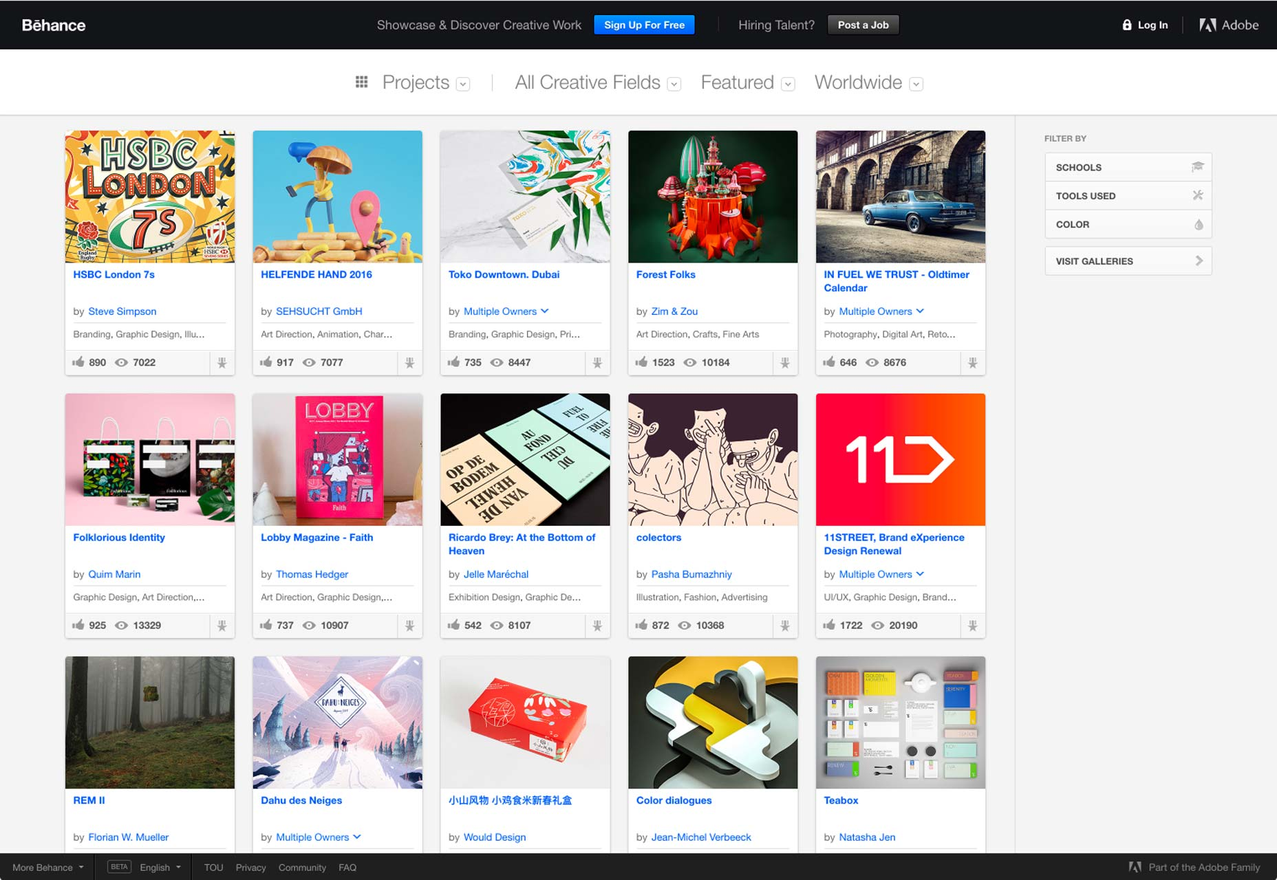 50 creative card UI designs | Webdesigner Depot