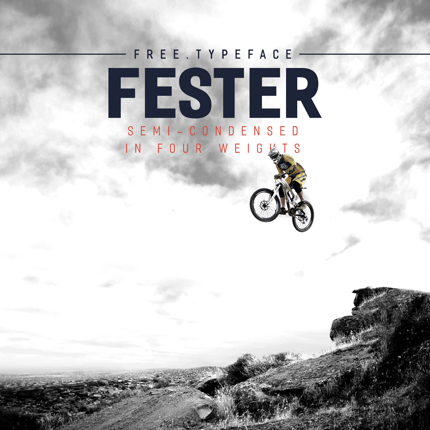 Free Download: Fester Typeface