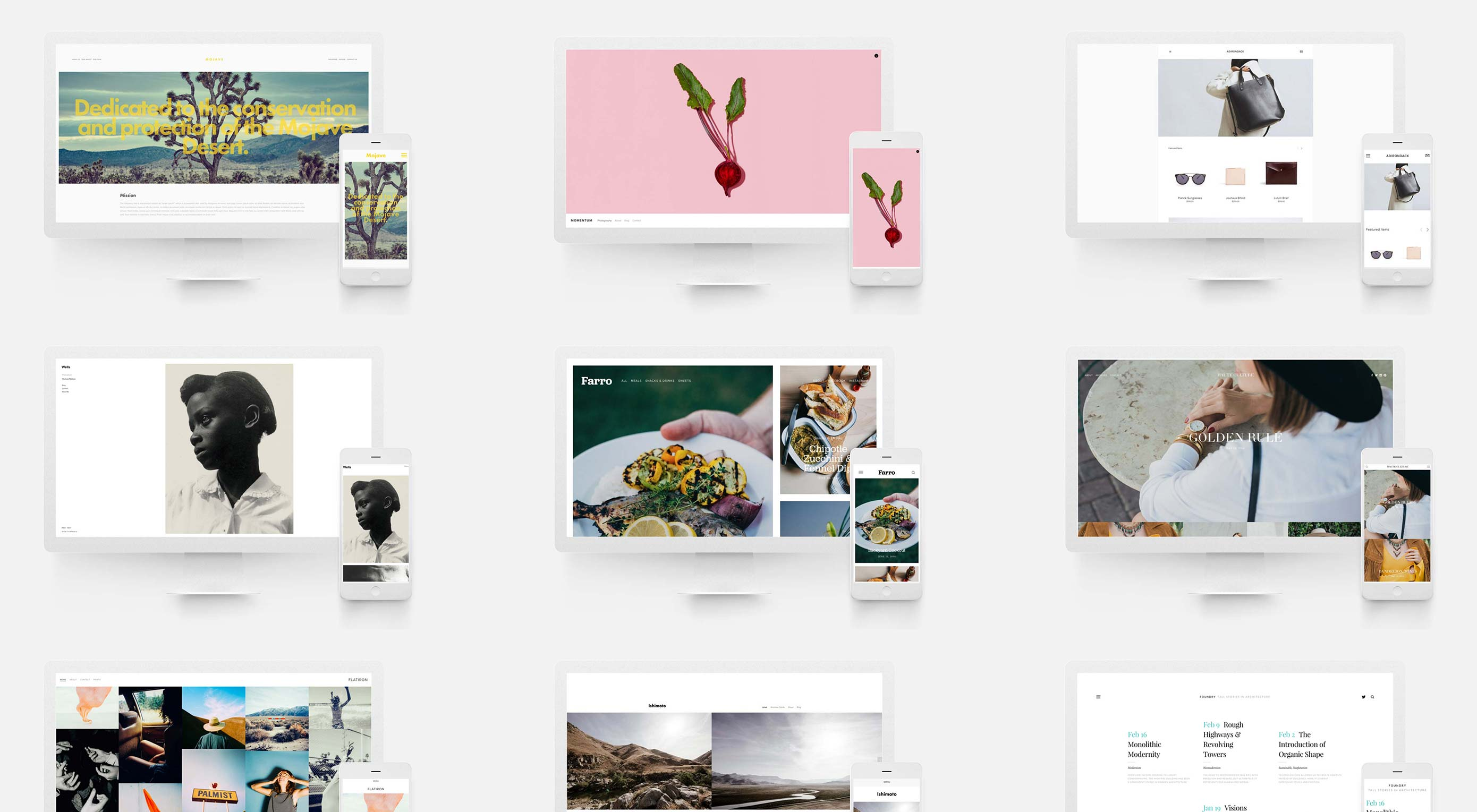 Build a beautiful home online with Squarespace