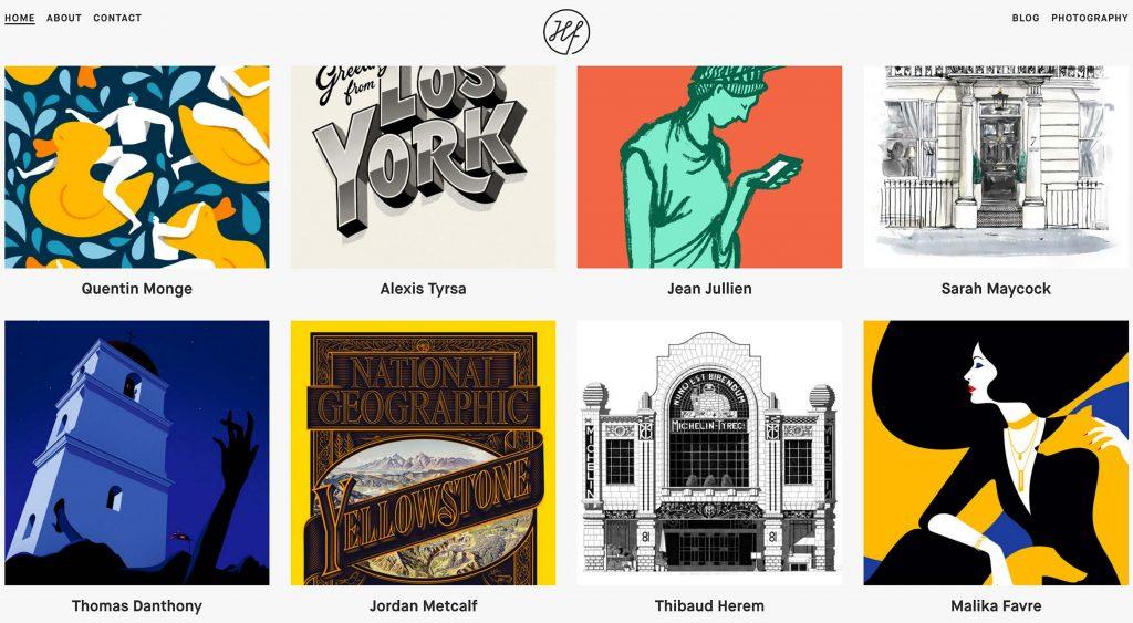 50 creative card UI designs
