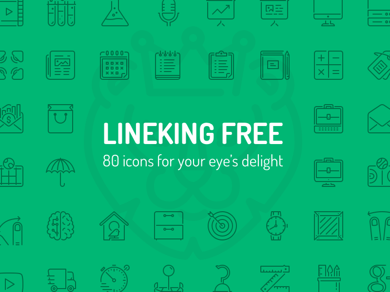 Free Download: LineKing Icons