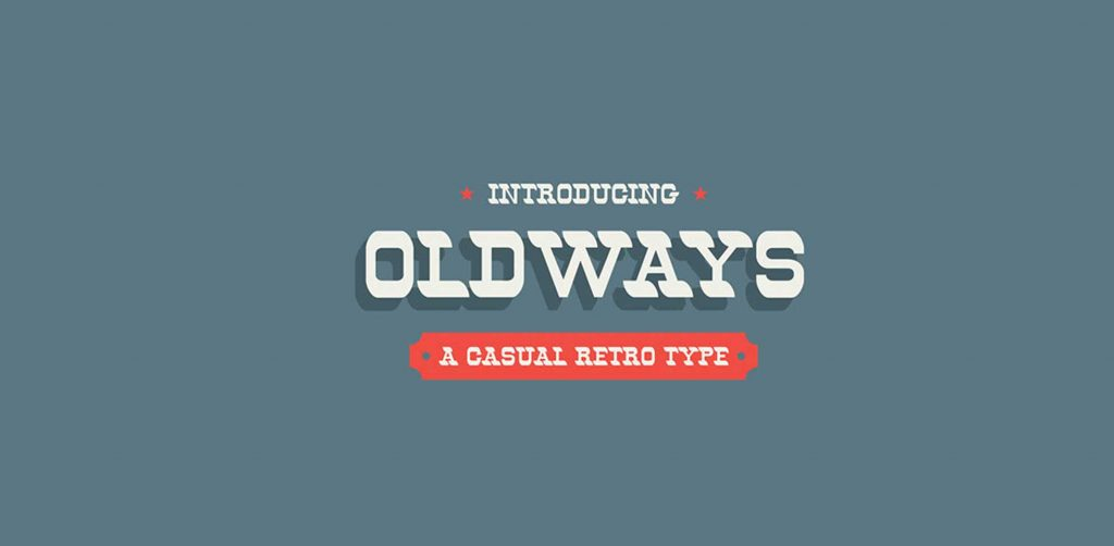 Free Download: Oldways Typeface