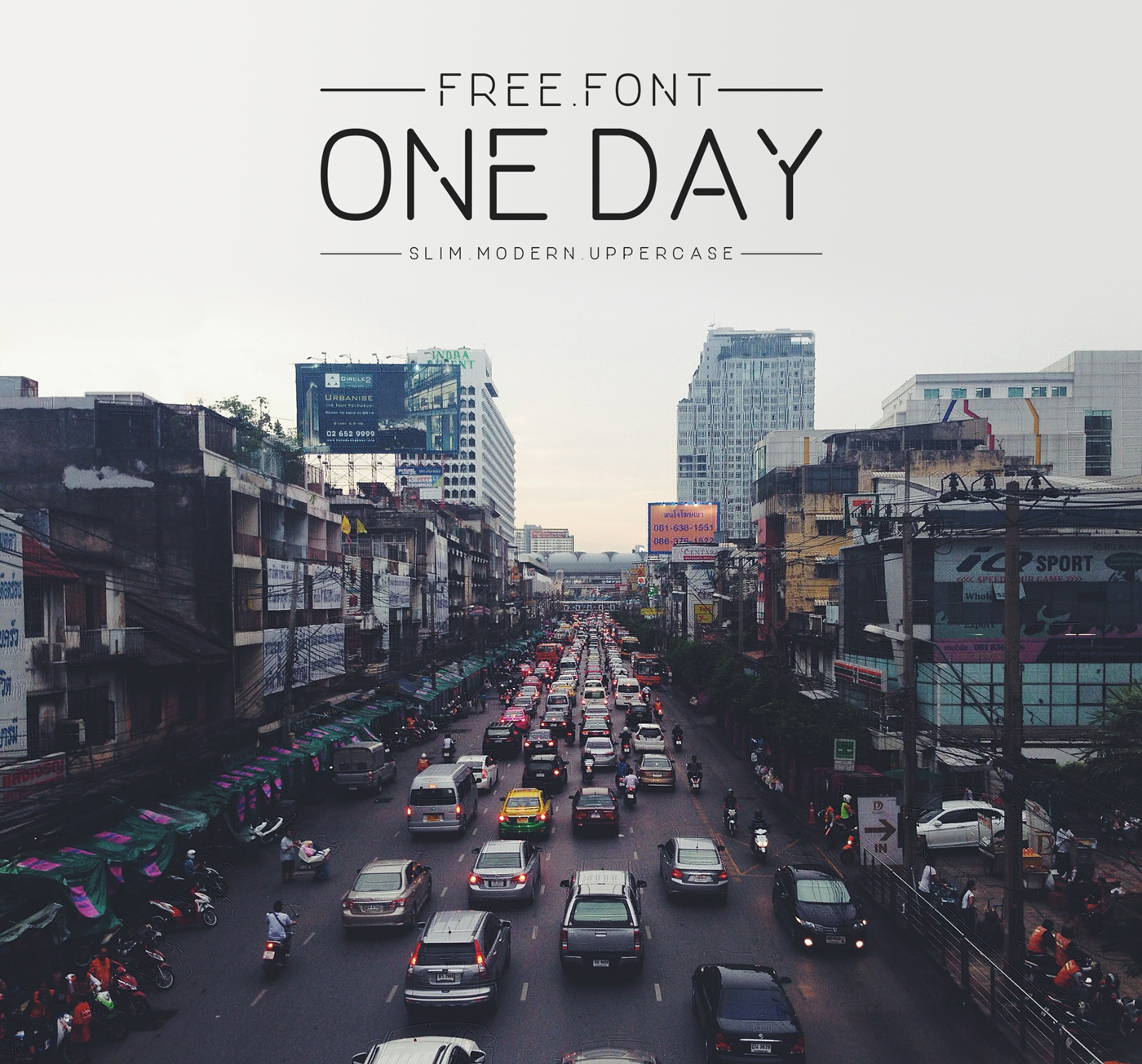 Free Download: One Day Font